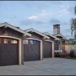 Neat Detached Garages In Row Style