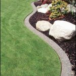 Concrete Lawn Borders