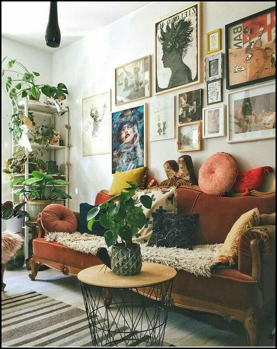 Eclectic Small Living Room