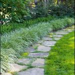 Flagstone Concrete Garden Edging