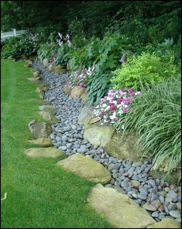 Large And Small Edging Stones