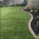 Simple Square Brick Edging