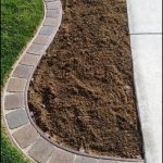 Symmetrical Brick Corner Edging