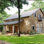 Vintage Barndominium With Rock Wall