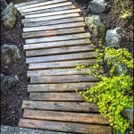 Wooden Walkway Edging