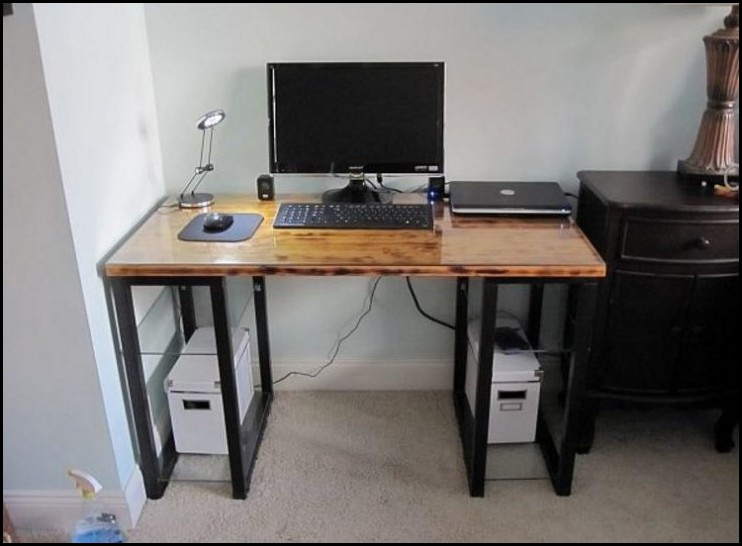 Awesome DIY Electric Computer Desk